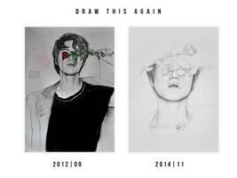 Draw This Again: Taemin (2012,2014)