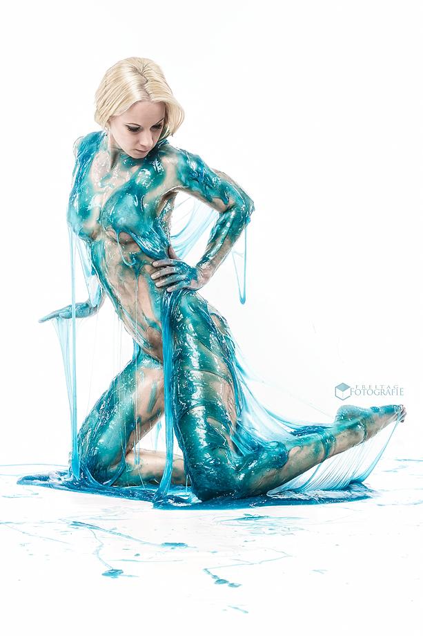 Blue Slime by MinniFutzi