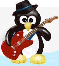 Icon Penguin W50  2 Guitar by rb5374