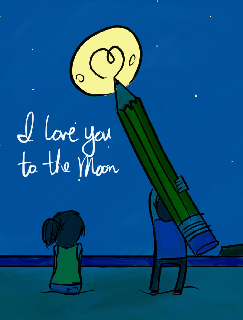 Ilu To The Moon1 by dank96