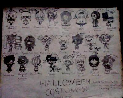 Halloween Costumes! - Missing Halloween by hanaru-the-artist on ...