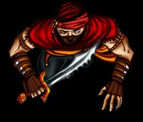 Free token Roll20 : Oriental bandit (fauchon)