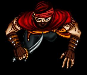 Free token Roll20 : Oriental assassin (dagger)