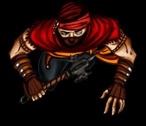 Free token Roll20 : Oriental bandit (mace)