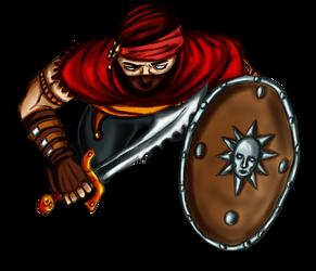 Free token Roll20 : Oriental bandit (shielded 2)