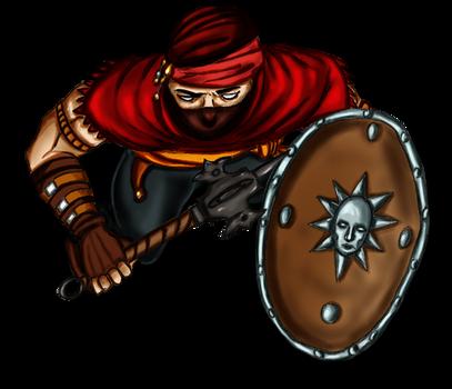 Free token Roll20  Oriental bandit (shielded 4)