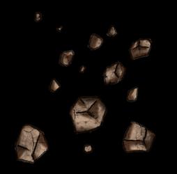 Roll20 Decoration : fallen rocks