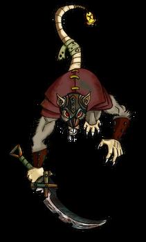 Free Token Roll20 Warhammer: Skaven Clan Rat