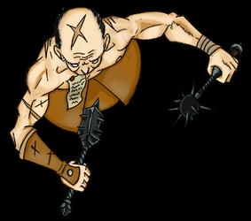 Warhammer token: Sigmar's Flagellant
