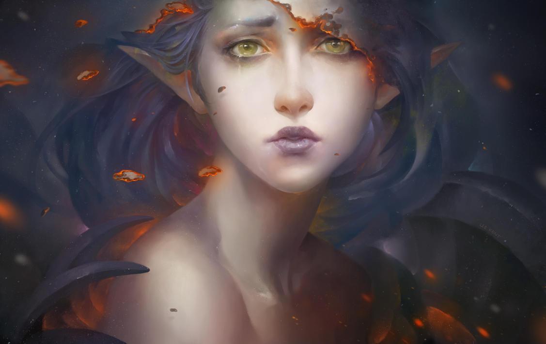Burning the sorrow by LeeKent