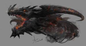 Flame Dragon by LeeKent