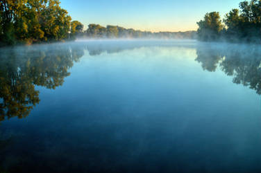 More Lake Mist by KaleyObsidia