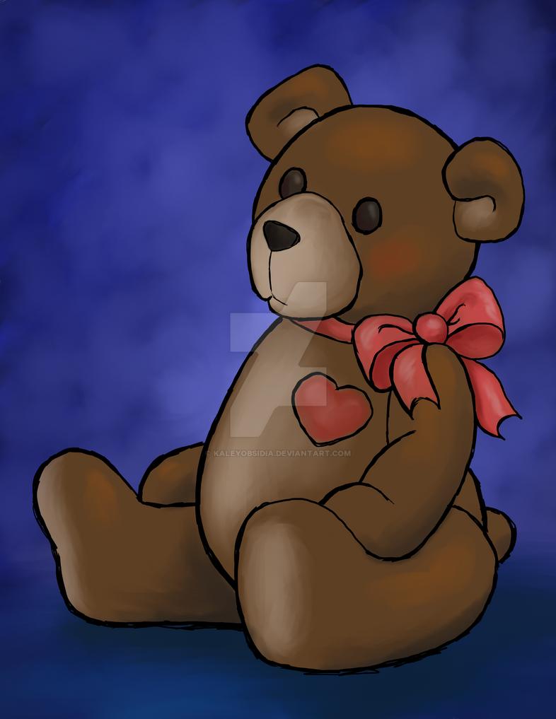 Feel Better Bear by KaleyObsidia