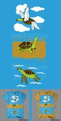 Turtoise evolution by Worm-love