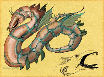CCAT - Copper worm by Worm-love