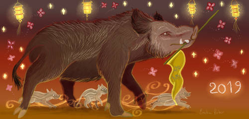 Chinese New year of the Boar 2019