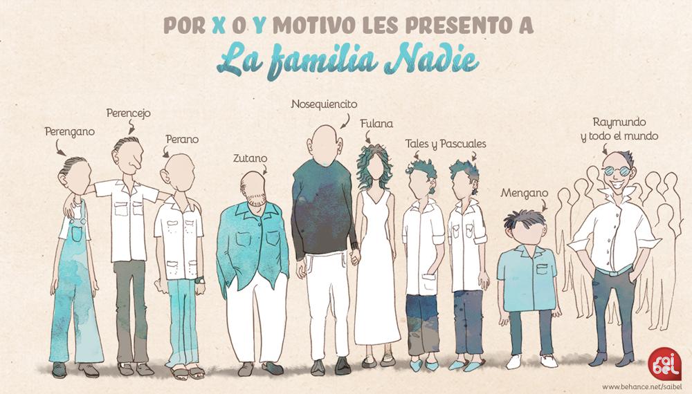 La familia Nadie by Saibel