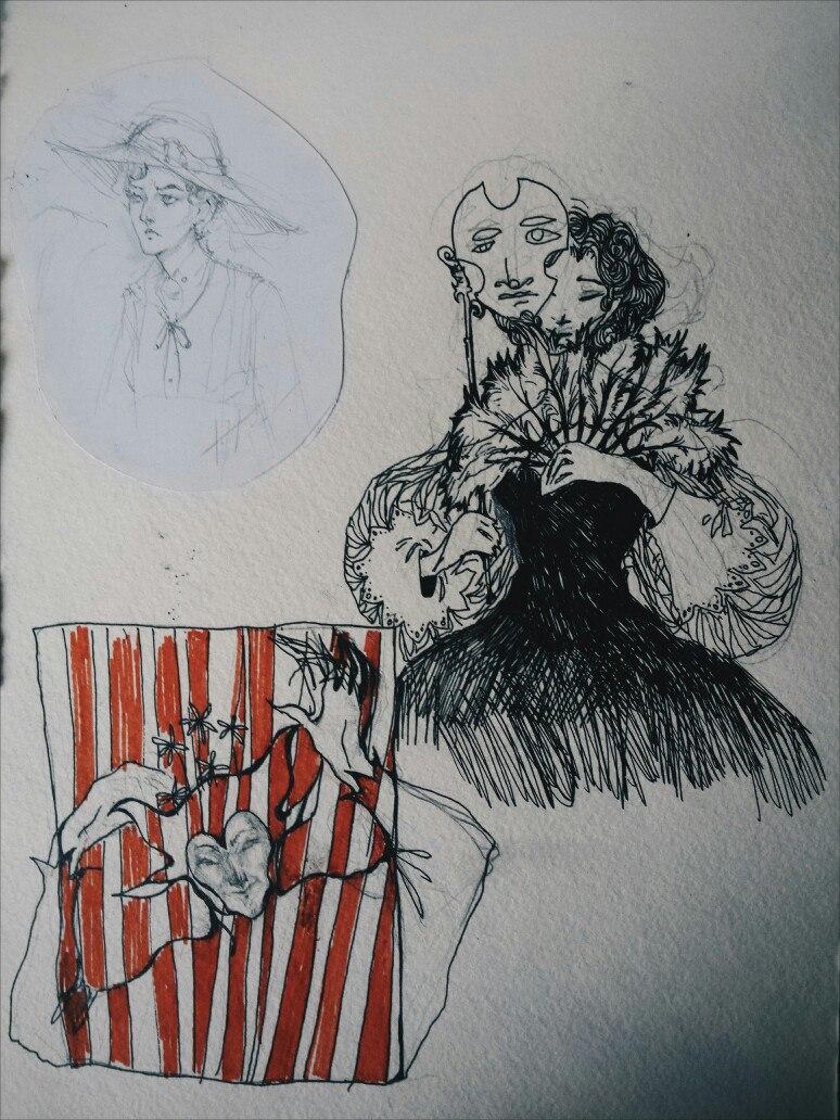 sketch by Lada-Maria
