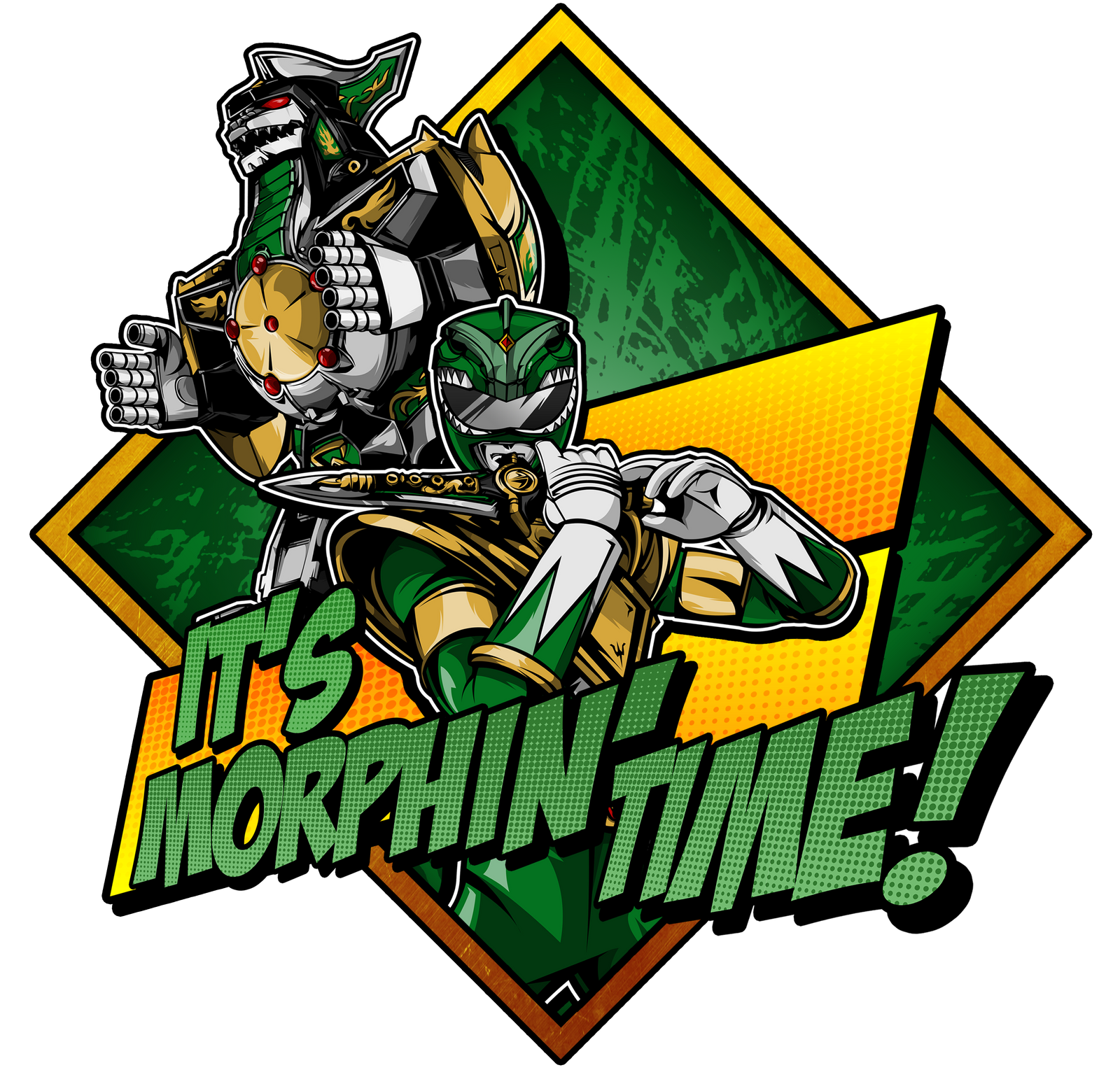 Mighty Morphin Power Rangers Wallpaper: Dragonzord! By DCGray On DeviantArt