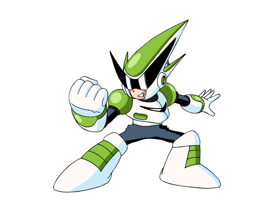 Sprint Man Inafune Art by CadmiumRED