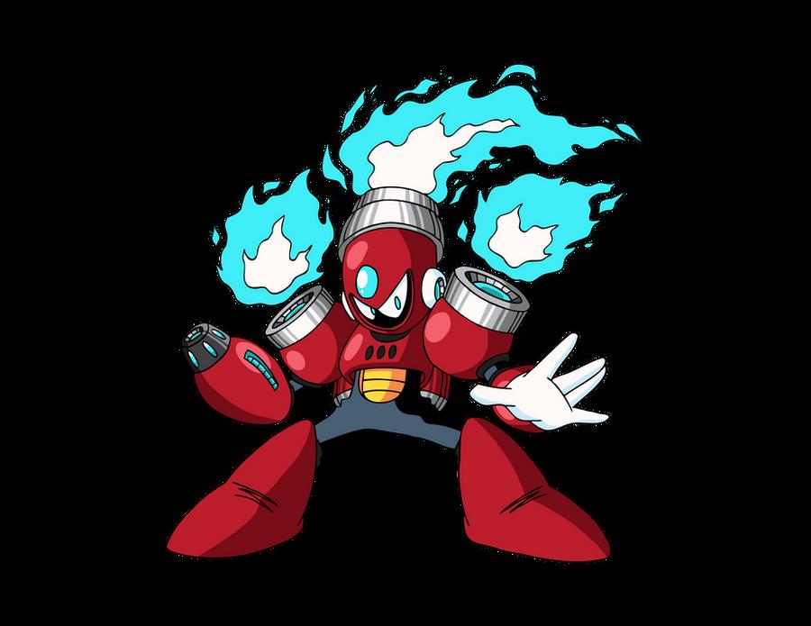 Nova Man Inafune Art by CadmiumRED