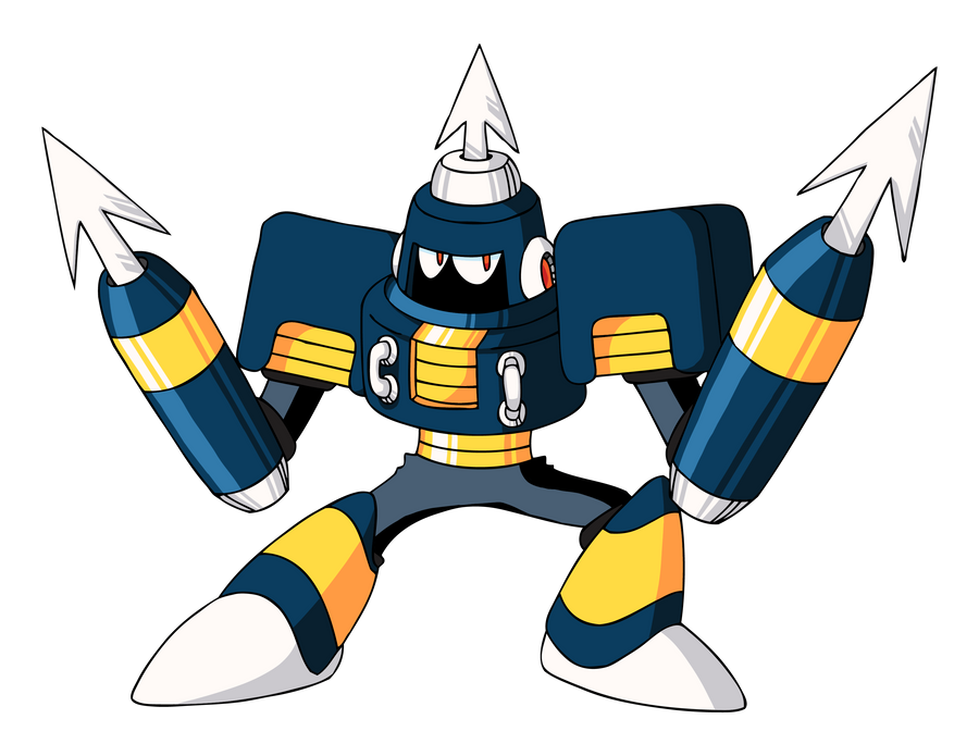 Harpoon Man Inafune Art by CadmiumRED
