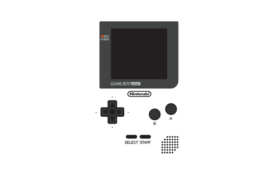 Game Boy Pocket Layout