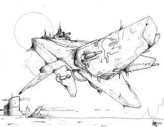 Moebius-class Star Destroyer by CadmiumRED