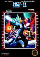 Mega Man 11 Bad Box Art by CadmiumRED