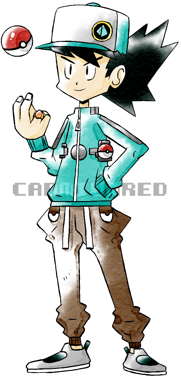 New Gen 1-2 Trainer (Old Sugimori Style) by CadmiumRED