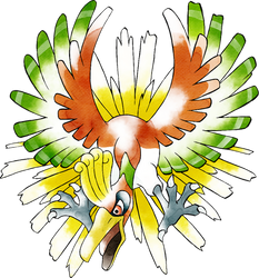 Ho-Oh (Old Sugimori Style)