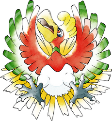 Ho-Oh Spaceworld '97 (Old Sugimori Style)