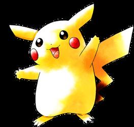 Pikachu Pokemon Yellow (Old Sugimori Style)