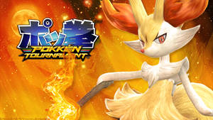 Pokken Tournament - Braixen by le-monde-de-k-rosene