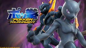 Pokken Tournament - Shadow Mewtwo by le-monde-de-k-rosene