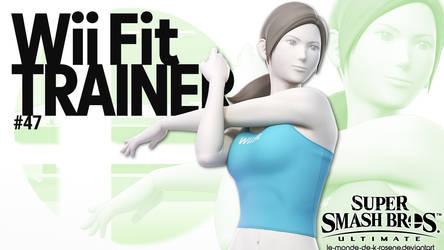 Super Smash Bros. Ultimate - Wii Fit Trainer by le-monde-de-k-rosene