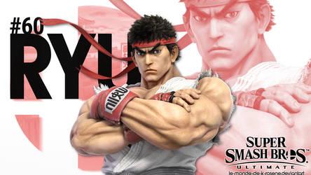 Super Smash Bros. Ultimate - Ryu by le-monde-de-k-rosene