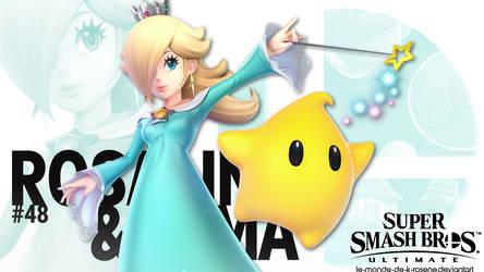 Super Smash Bros. Ultimate - Rosalina by le-monde-de-k-rosene