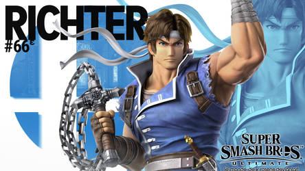 Super Smash Bros. Ultimate - Richter by le-monde-de-k-rosene