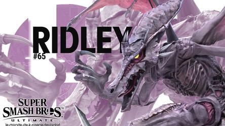 Super Smash Bros. Ultimate - Ridley by le-monde-de-k-rosene