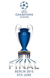 Logo champions league final Berlin 2015 by ilnanny