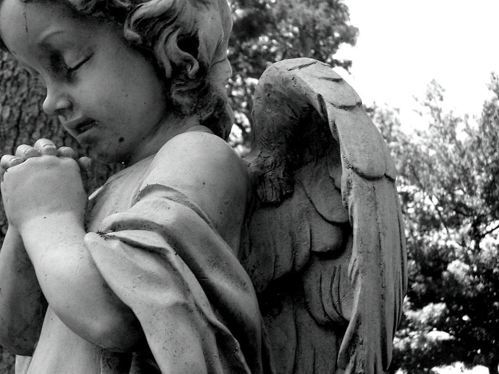 praying angel by monica-dorkface