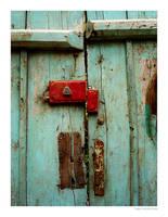TURQUOISE DOOR by 8088