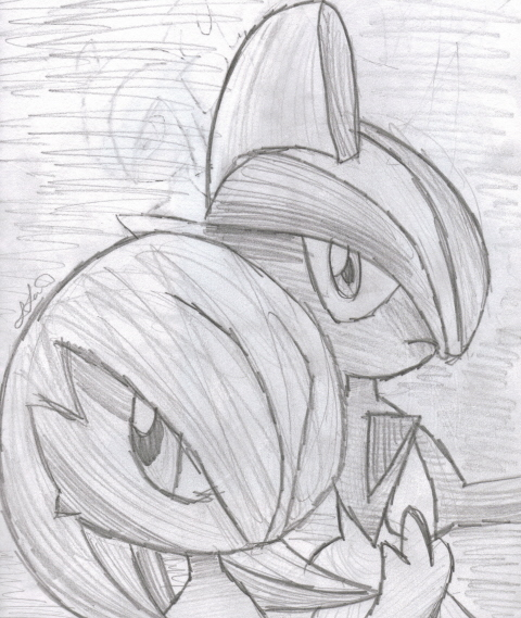 gallade coloring pages - photo#43