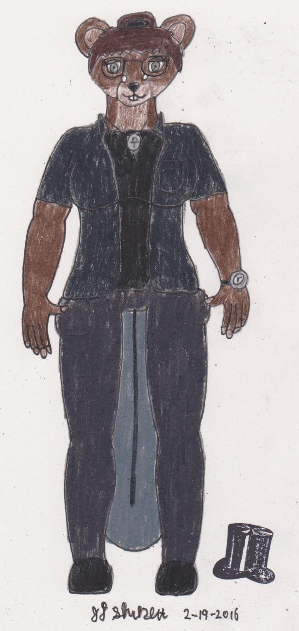 Jimira Reddjedet Revised Design by OmegaWolf57