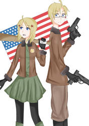 APH- America by TheUsualSadist