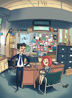 The X-Files by nuttyisa88