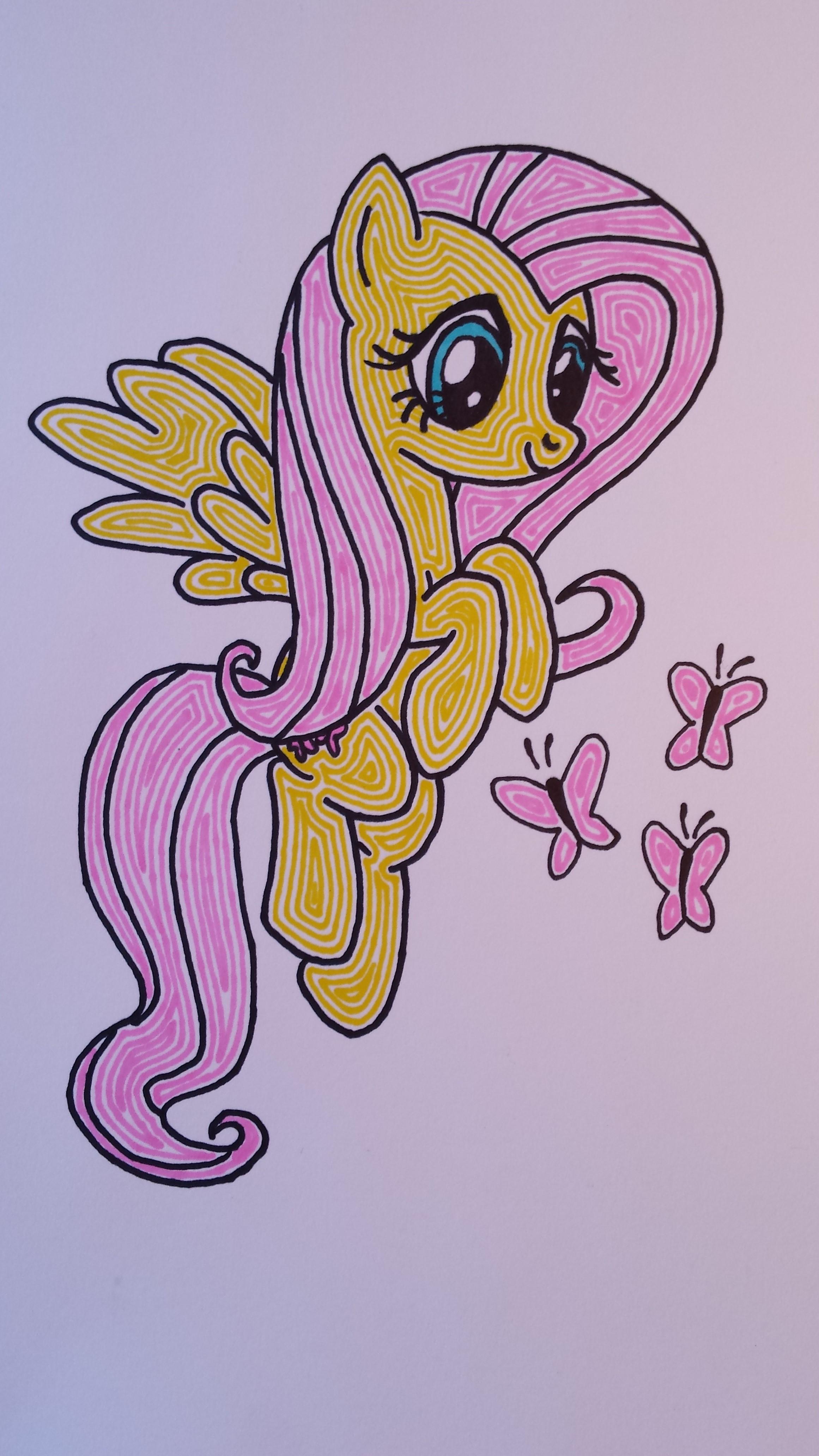Fluttershy by tapgirl301