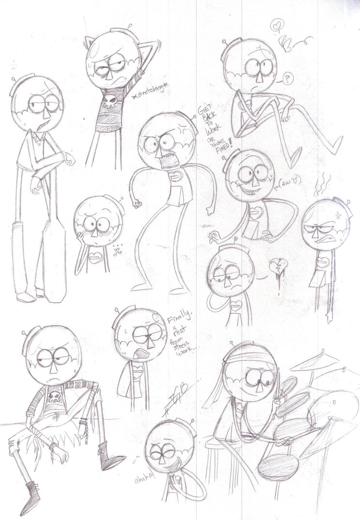 Benson Sketches by M4DH4ttey266