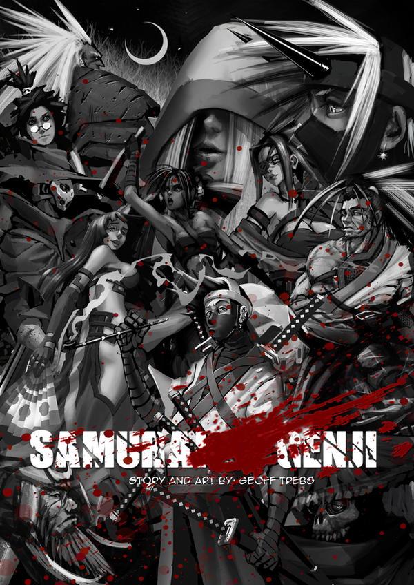 Samurai Genji Ch.1 cover by SAMURAI-GENJI